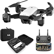$79 » KINGBOT RC Drone, 2.4Ghz Foldable Quadcopter WiFi FPV Remote Control Drones with 120°Wide-Angle 5mp 1080P Camera & Altitude Hold Functions