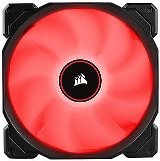 Corsair AF140 LED, 140mm Low Noise Cooling Fan - Red LED (Dual Pack)