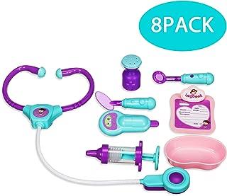 Stylife Doctor Kit for Kids-8Pcs Educational Medical Playset Equipment Toys for Toddler Boys Girls