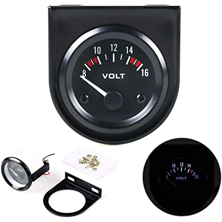 Ggaggaa Auto Voltmeter 12v Instrumententafeln Modifikation Instrument Mechanisch Analog Led Auto Voltmeter Auto