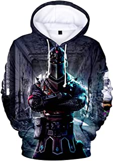 3D Printed Unisex Hooded Novelty Battle Royale Hoodie Pullover Sweatshirts with Pockets Youth Men Women Boys Girls