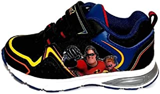 Disney Pixar Incredibles Toddler Boys Lighted Athletic Sneaker