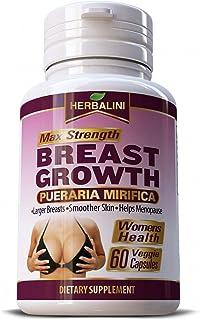 Max Strength Pueraria Mirifica 5000mg - Breast Growth, Bust Enlargement, Firm Body, Breast Enhancement Pills - Body Augmen...