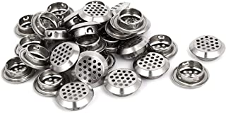uxcell Household 25mm Dia Stainless Steel Round Shaped Mesh Hole Air Vents Louver 30pcs