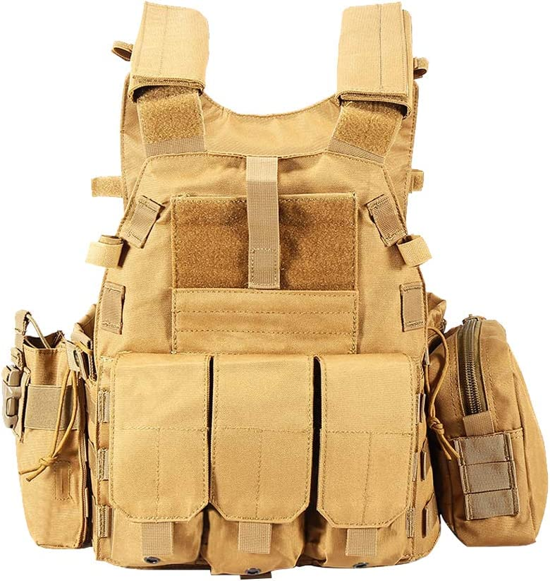 Now on sale YUANZHOU Outdoor Tactical Vest Max 42% OFF Equipmen Camouflage Sports