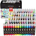 Set of 60 Arteza 3D Fabric Paint