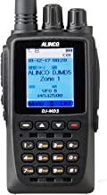 Alinco DJ-MD5T VHF/UHF (136-174/400-480 MHz) DMR Tier 1 and Tier 2 Digital and Analog Commercial HT Hand Held Transceiver Radio