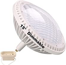 BAOMING PAR64 LED Bulb Replace Traditional 500w PAR64 6000~6300K (Daylight White) 15° 40W DIMMABLE AC/120V GX16D ()