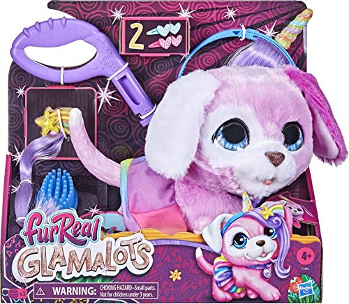 Collect FurReal - Glamalots- The diva doggy you can style, even like a unicorn! She will love you!