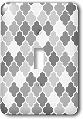 3drose Llc Lsp 120262 1 Purple Colorful Quatrefoil Girly Moroccan Tiles Lattice Lilac Indigo Violet Purple Shades Clovers Single Toggle Switch Switch Plates Amazon Com