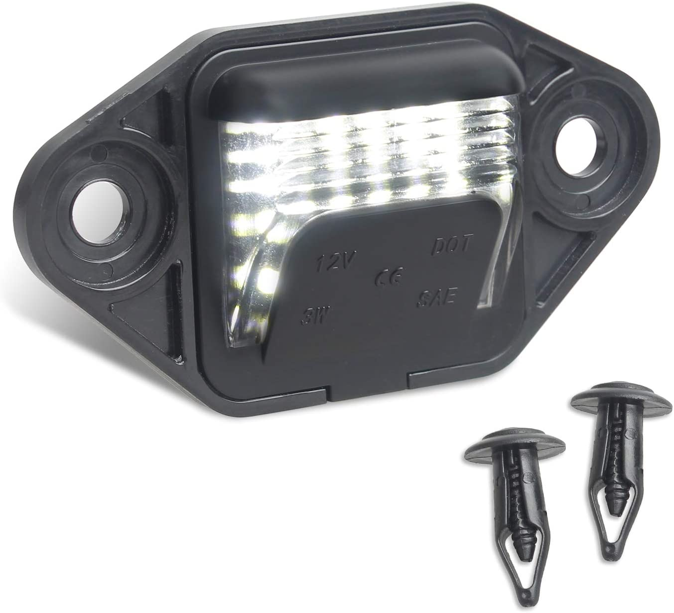 Department store RUXIFEY low-pricing License Plate Lights Replacement Ford Compatible E1 with