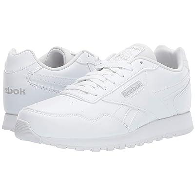 Reebok Kids CL Harman Run (Little Kid/Big Kid) (White/Steel) Kids Shoes