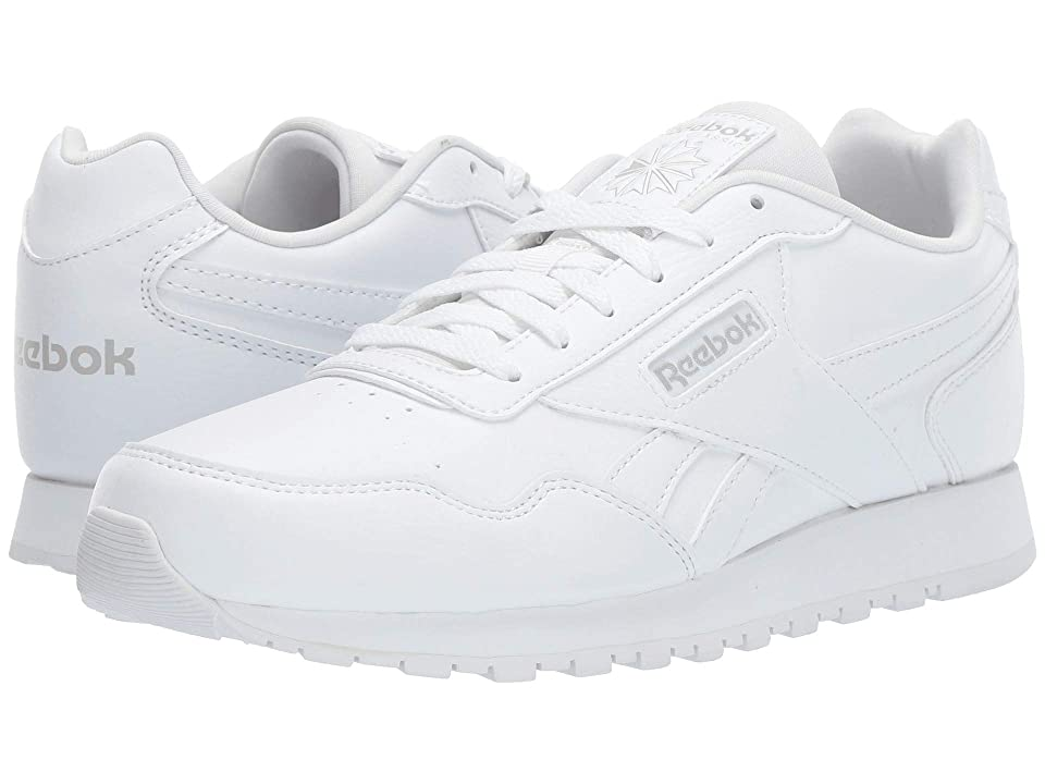 Reebok Kids CL Harman Run (Little Kid/Big Kid) (White/Steel) Kids Shoes