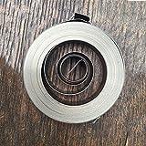 XBaofu 1 muelle de bobina de alambre plano en espiral, resortes de fuerza constante, 0,25 mm de grosor* 8 mm de ancho* 5000 mm de longitud* 45 mm de diámetro hacia fuera