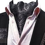 YCHENG Moda Hombre Pañuelo Jacquard Ascot Paisley Corbatas Banquete Regalo de San Valentín LJA-05