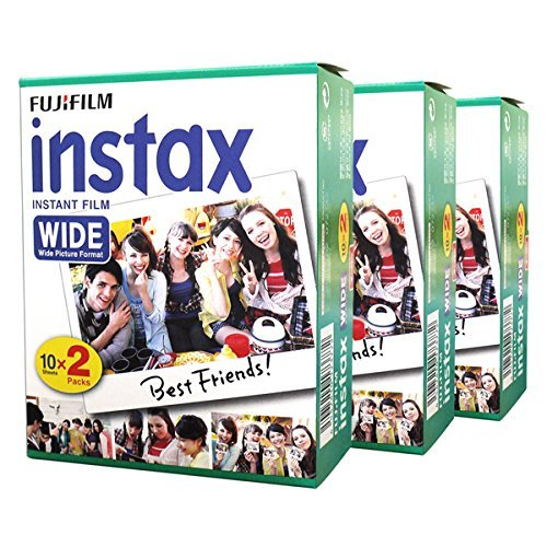 Fuji Fujifilm Instax Wide Instant Photo 60 Film for Instax Wide 210 200 100 300 Camera