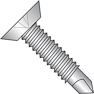 #8-32 X 11//16 Captive Panel Screws Slotted Drive 200 pcs Knurled High Head Stainless Steel Chamfered Shoulder Long Dog Cone Point Style 2