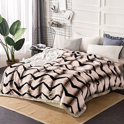 Wddwarmhome Couverture Chambre Couvert Avec Couverture Couverture de Loisir Quatre Saisons Douce Et Confortable Double Isolation Couvertures ( taille : 195*230cm )