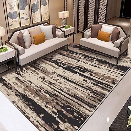 Michance Nordische Moderne 3D-Mode Couchtisch Sofa Kissen Geometrische Linien Rutschfester Dicker Teppich Schlafzimmer Wohnzimmer Hotel Bed & Breakfast Party Teppich