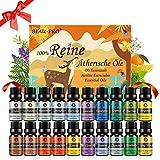Ätherische Öle Set Duftöl Diffuser - 100% Naturrein Aroma Diffuser Duft Öl Aromaöl Duftöle -...