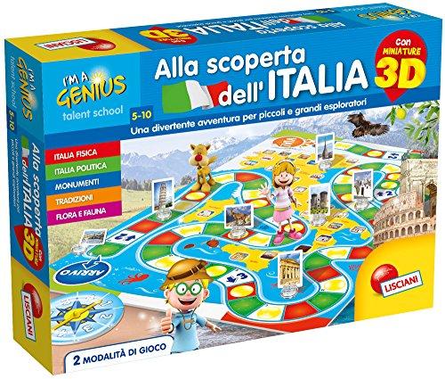 Lisciani Giochi 65356 - I'm a Genius Alla Scoperta dell'Italia