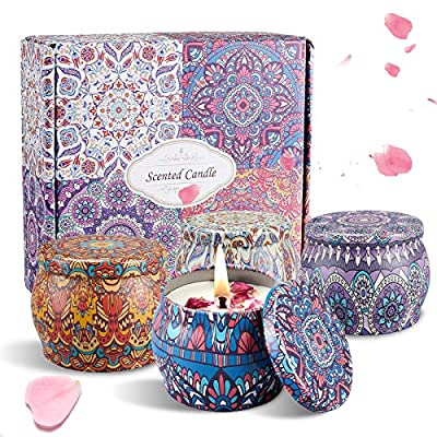 Amazon Promo Code for Gifts Set  Natural Soy Candles New Version 25092021121803