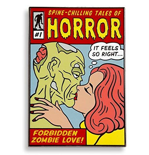 Pinsanity Zombie Horror Comic Book Cover Enamel Lapel Pin