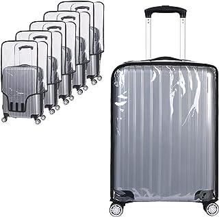 Vicloon Luggage Cover Protettore di Bagagli Suitcase Cover, Custodie Protettive per Valigie Trasparente PVC Impermeabile A...