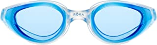 ROKA R1 Anti-Fog Swim Goggles with RAPIDSIGHT Razor Sharp Optics - Mirror and Non-Mirror