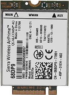 Tosuny NGFF/M.2 Network Card Module EM8805 3G 4G WWAN Card DW5570E, Compatible for Dell Venue 8, Venue 11 Pro, Dell 7404 Rugged Extreme, Dell Latitude E7250