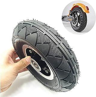 XULONG Neumático para Scooter eléctrico, llanta neumática de 8 Pulgadas Rueda Entera (Incluido el