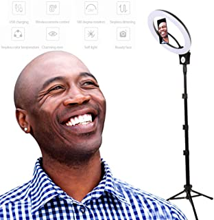 """12"""" LED Ring Light With USB interface,170 cm Scalable Tripod Stand Adjustable & Phone Holder , Remote control wireless reg..."""