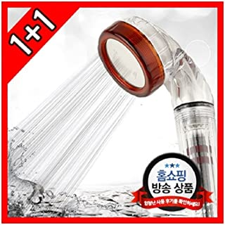 Bubble Shower Head 1+1 for Bathroom and Kitchen(Handy Type) Water Pressure Rise Water Saving