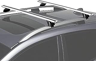 BRIGHTLINES 2016-2019 Volvo XC90 Momentum Roof Rack Crossbars