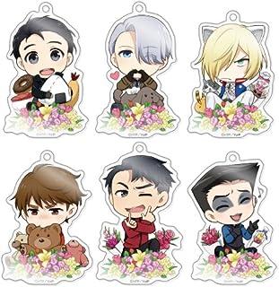 きゃらふぉるむ ユーリ!!! on ICE アクリルストラップコレクション Vol.3 BOX商品 1BOX = 6個入り、全6種類