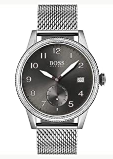 Hugo Boss Mens Quartz Watch, Chronograph Display and Stainless Steel Strap 1513673
