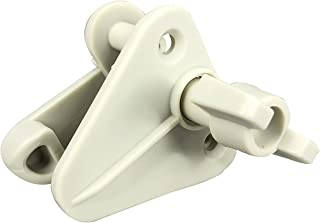 Pactrade Marine Pontoon Boat Replacement Safety Door Gate Latch Plastic (Off White)