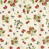 Fabulous Fabrics Dekostoff Canvas, beschichtet Beeren –