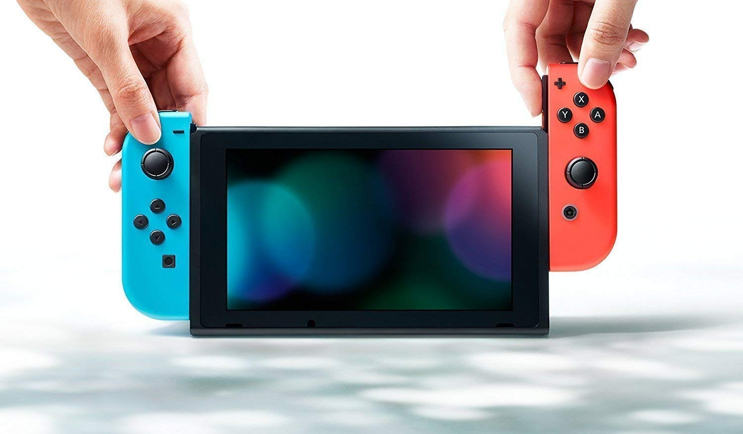 Nintendo Switch - Consola color Azul Neón/Rojo Neón: Amazon.es ...