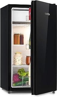 comprar comparacion Klarstein Luminance Frost nevera - Mininevera, Volumen 91 litros, Eficiencia de tipo A+, Cajón para verdura, 2 baldas de v...