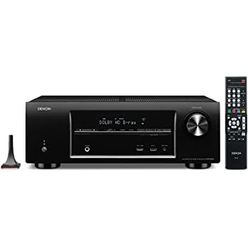 Denon AVR-E300 5.1 Channel 3D Pass Through and Networking Home Theater AV Receiver with AirPlay (Discontinued by Manufacturer)