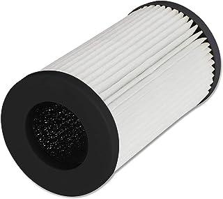 QUEENTY True HEPA Filter - Filtro purificador de Aire de Repuesto para el purificador de Aire Coche FC01, eliminador de alergias de Olor para Humo, Polvo, Moho, hogar, Oficina, Mascotas