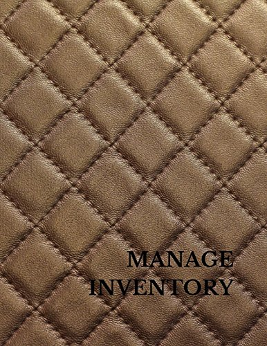 Manage Inventory: Large 8.5 Inches By 11 Inches