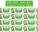 Clearly Herbal Gentle Baby Wipes 72 Count Super Value (72 Count x 12 Packs = 864 Wipes/case) Bulk Buy