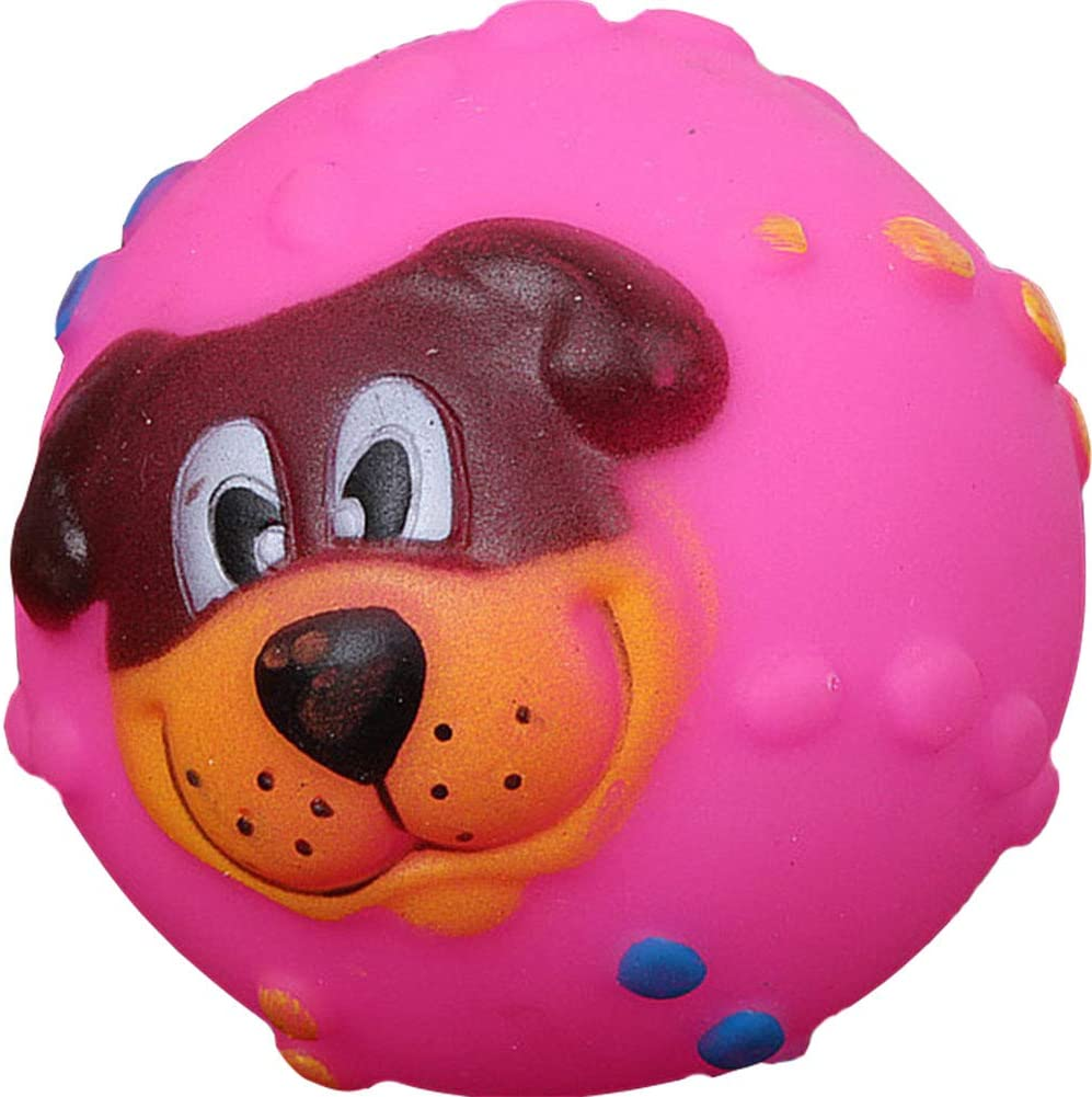 Pet SEAL limited product Dog Toy Face Vocal Molar and Safe Ball Lion 2021new shipping free shipping Rubber Non