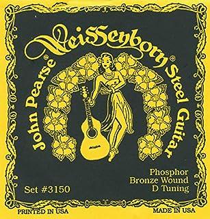John Pearse Strings® 3150H For Weissenborn® Steel Guitar - Phosphor Bronze - D-Tuning