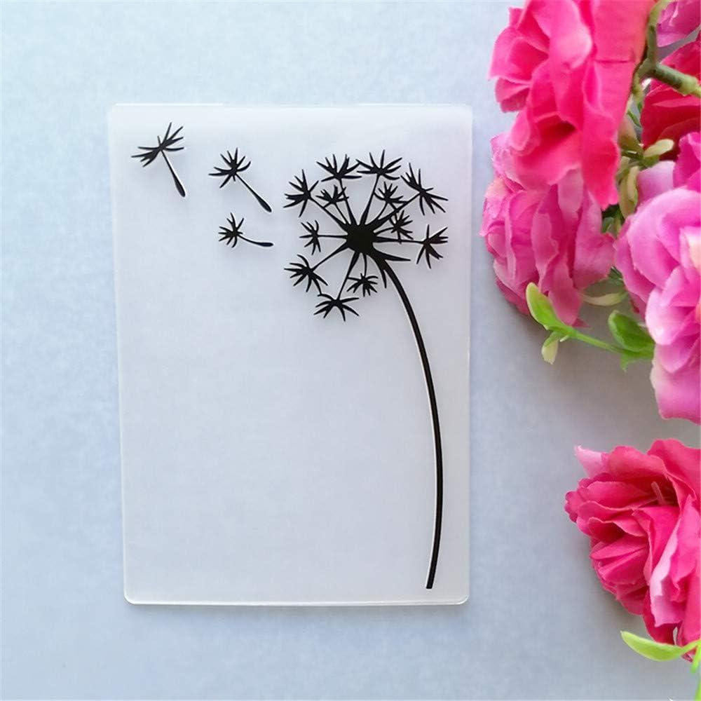 GAOZONGTER Dedication Simple Dandelions Direct sale of manufacturer Embossing Folders Making a for Card