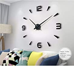 Large 3D Frameless Wall Clock Stickers DIY Wall Decoration for Living Room Bedroom Home Office Decorations Gift
