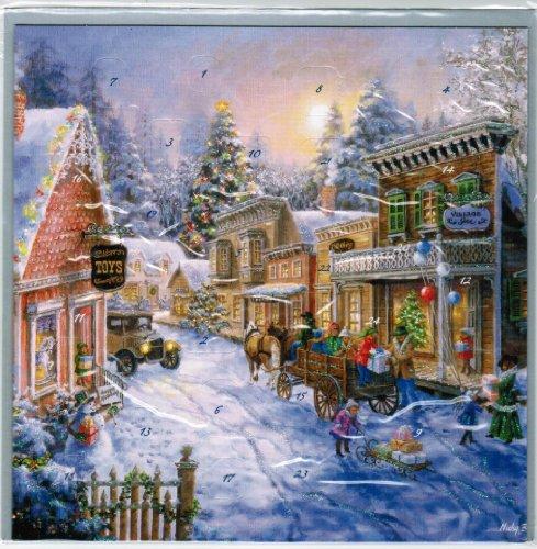 Westernstadt Winter