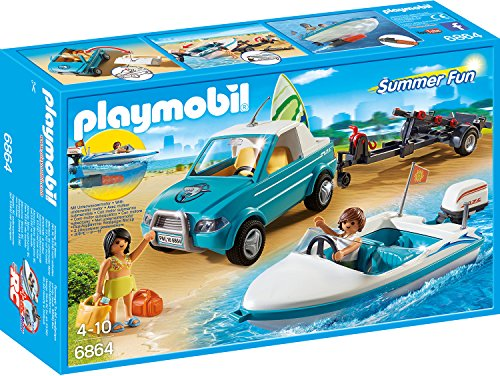 Playmobil 6864 - Surfer-Pickup mit Speedboat